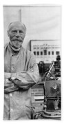 Willem Einthoven, Dutch Physiologist Beach Towel