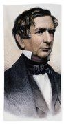 William Henry Seward Beach Towel