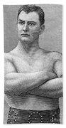 William Muldoon (1852-1933) Beach Towel