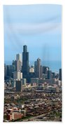 Willis Sears Tower 05 Chicago Beach Towel