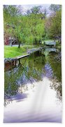 Williston Mill Stream Beach Towel