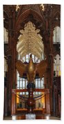 Winchester Cathedral Quire Beach Towel