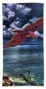 Wind Beneath My Wings Beach Towel