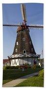 Windmill Danish Style 1 A Beach Towel