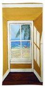 Window To The Sea No. 3 Beach Towel