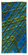 Windows And Reflections No.1058 Beach Towel