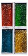 Windows Beach Towel by Carlos Caetano