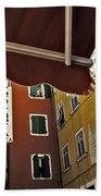 Windows In Venice Beach Towel