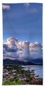 Windward Clouds Beach Towel