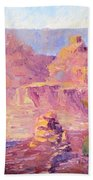 Windy Day In The Canyon Beach Towel