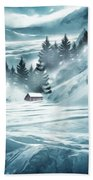 Winter Seclusion Beach Towel