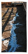 Winters Approach Beach Towel