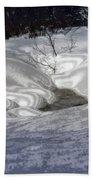 Winter's Satin Blanket Beach Towel