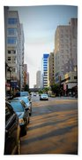 Wisconsin Avenue 2 Beach Towel