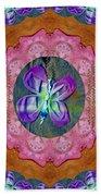 Wonderful Rose Petal Art Beach Towel