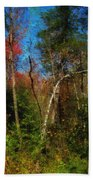 Woodland Ramble Beach Towel