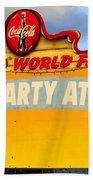 World Famous Party Beach Towel