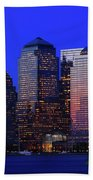 World Financial Center New York Beach Towel