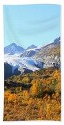 Worthington Glacier Beach Towel