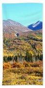Wrangell Mountains Colors Beach Towel