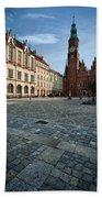 Wroclaw Town Hall Beach Towel