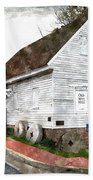 Wye Mill - Water Color Effect Beach Towel by Brian Wallace