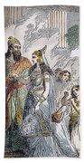 Xerxes I & Esther Beach Towel
