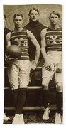 Yale Basketball Team, 1901 Beach Towel
