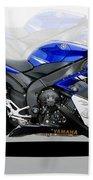 Yamaha R1 Beach Towel