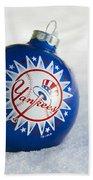 Yankees Ornament Beach Towel