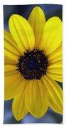Yellow Flower 4 Beach Towel