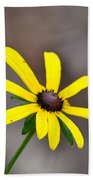 Yellow Star Beach Towel