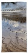 Yellowstone Reflection Beach Towel