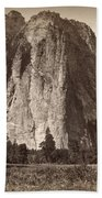 Yosemite: Cathedral Rock Beach Towel