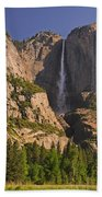 Yosemite Fall's Spring Flow Beach Towel