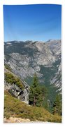 Yosemite Half Dome Beach Towel