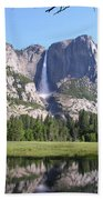 Yosemite National Park Usa Beach Towel