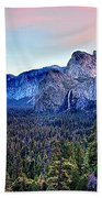 Yosemite Valley From Tunnel Beach Towel