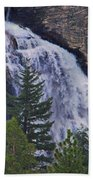 Yosemite Waterfall Beach Towel