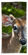 Young Buck 2 Beach Towel