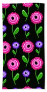 Young Florals  Beach Towel