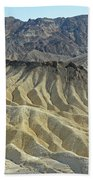 Zabriskie Point Beach Towel