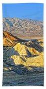 Zabriskie Point Death Valley Beach Towel