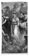Zenobia (d. After 274 A.d.) Beach Towel