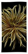 Zinnia  Beach Towel