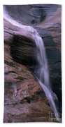 Zion Summer Waterfall Beach Towel