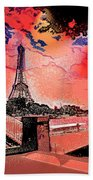 # 9 Paris France Beach Towel
