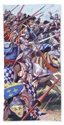 Agincourt The Impossible Victory 25 October 1415 Beach Towel