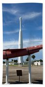 Air Force Museum At Cape Canaveral  Beach Towel