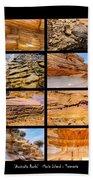 ' Australia Rocks ' - Maria Island - Tasmania Beach Towel